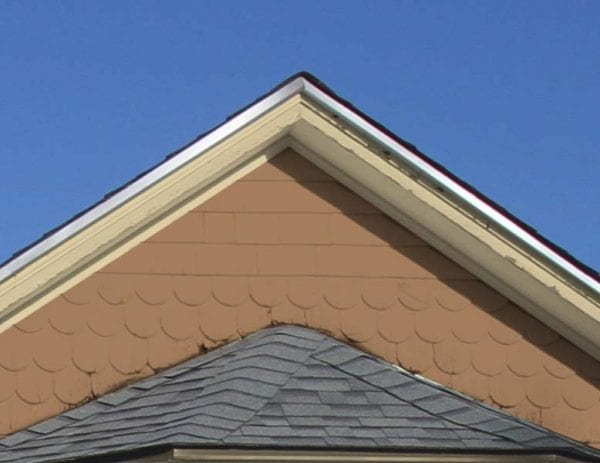 white roof flashing