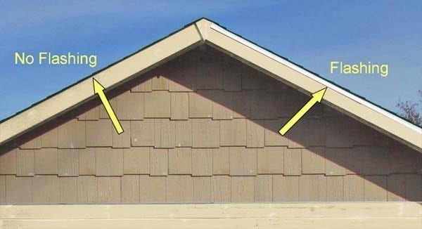 roof flashing diagram