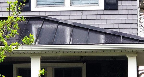 bad standing seam metal roof