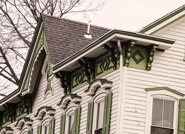 built in gutters victorian