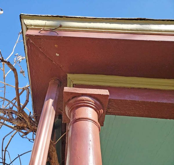 downspout for porch roof