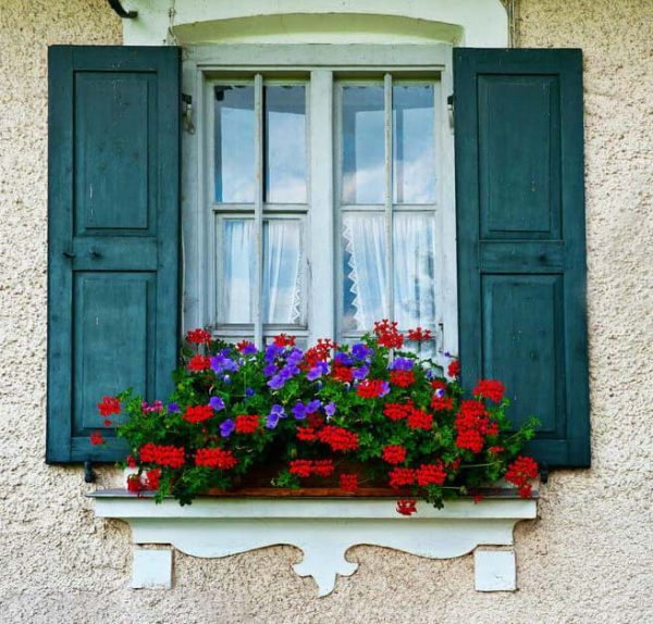 window flower box curb appeal