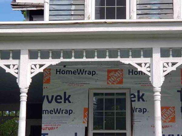 historic porch frieze